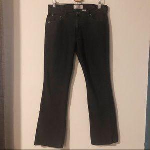Levi's black stretch bootcut Long jeans